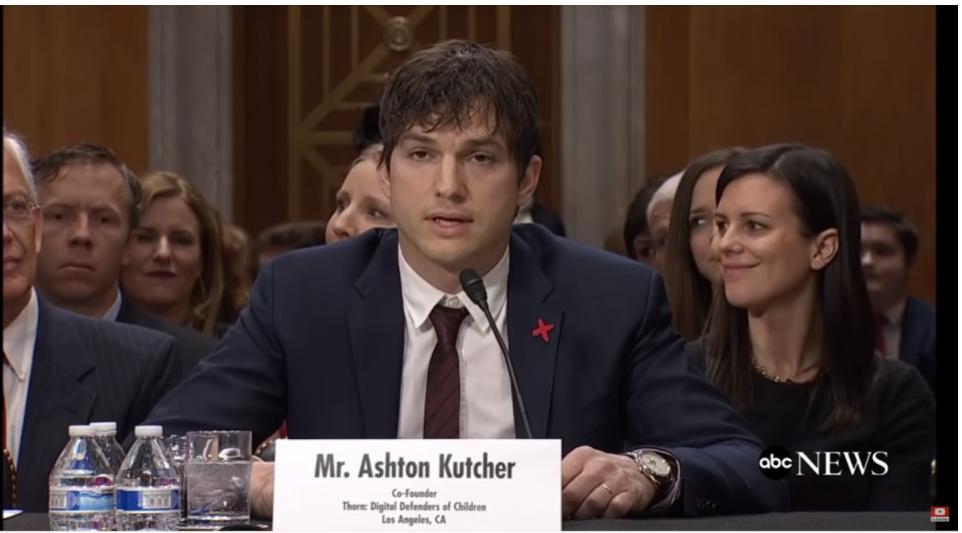 Ashton Kutcher Speech on Human Trafficking Before Congress